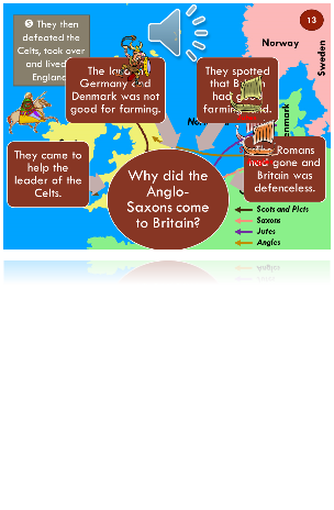Key Stage 2 Primary School History Anglo-Saxons and Vikings